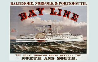 Steam Ship - Bay Line